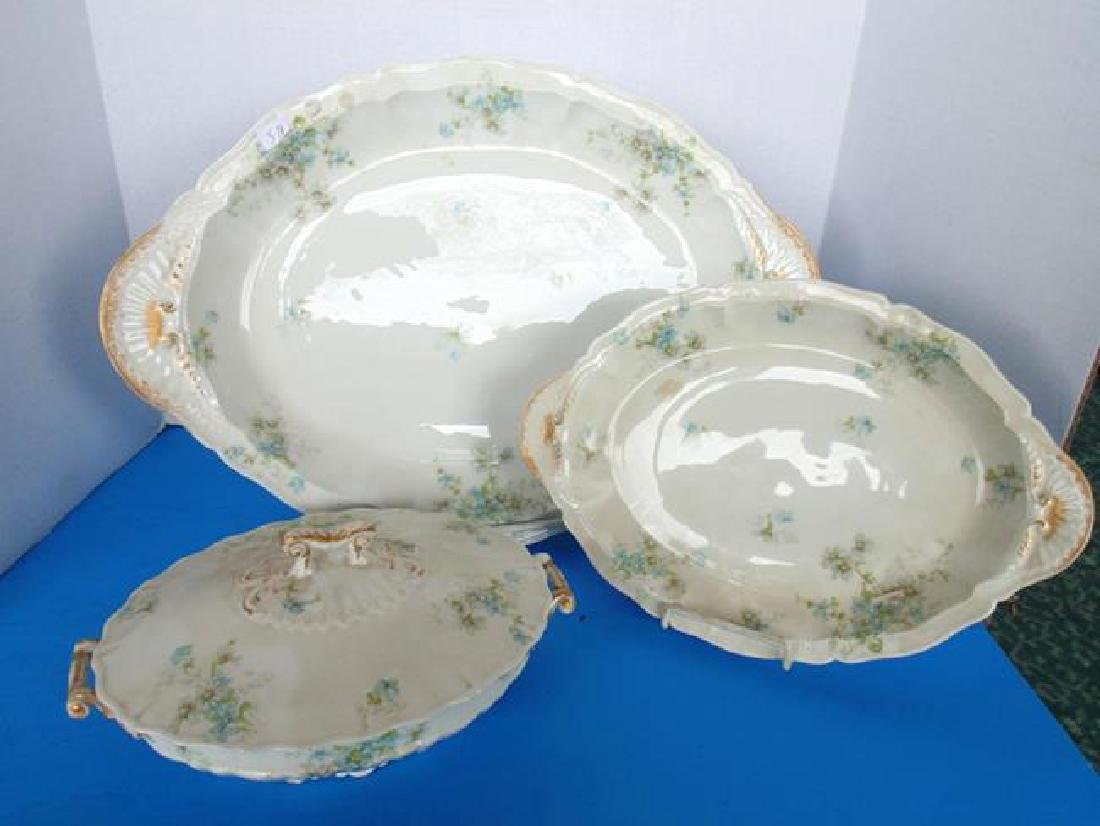 Theodore Haviland Limoges France Platter & Bowl