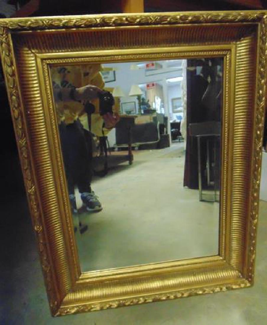Contemporary Gilt Wall Mirror