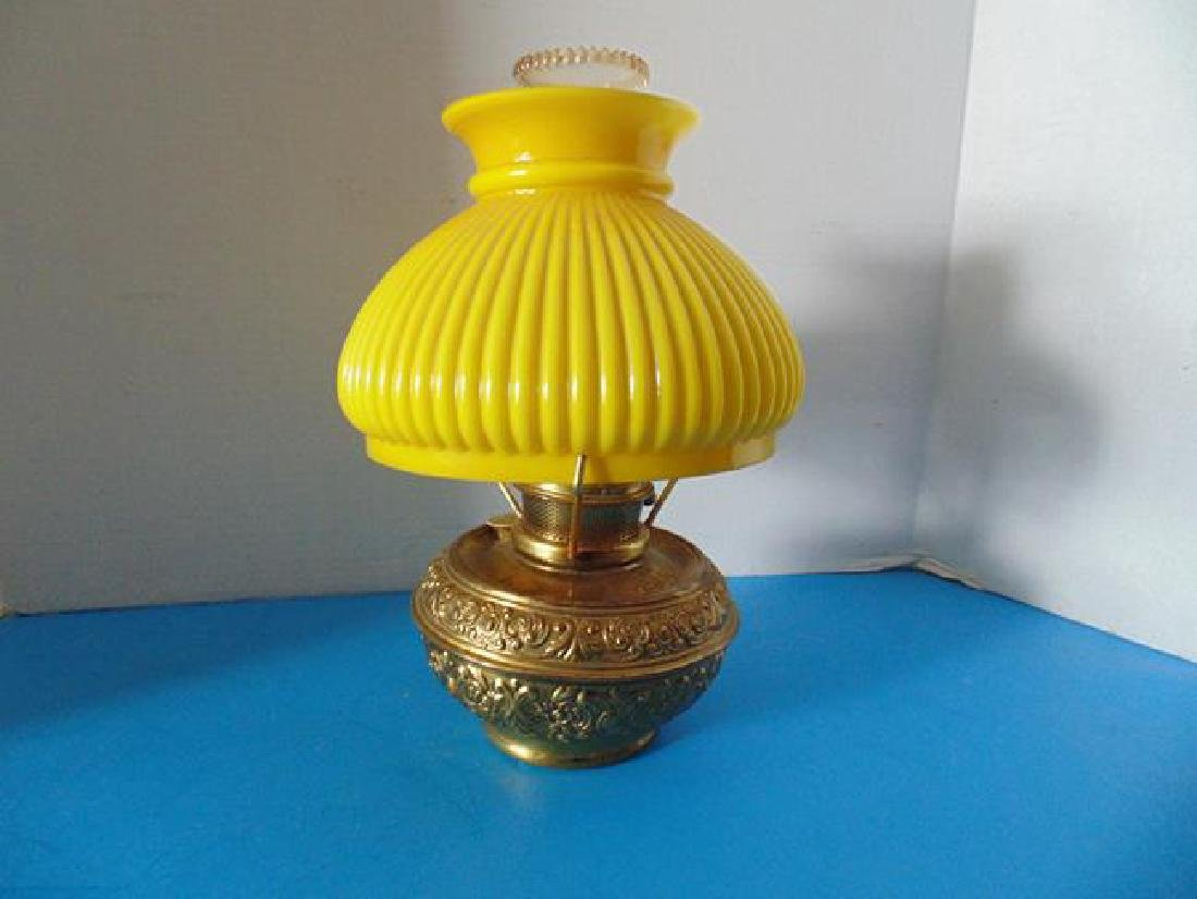 Bradley & Hubbard Oil Lamp