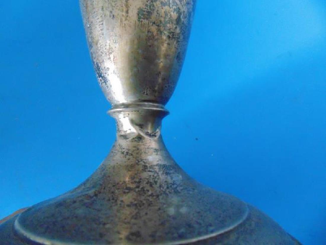 Sterling Silver Fluted Vase - 2