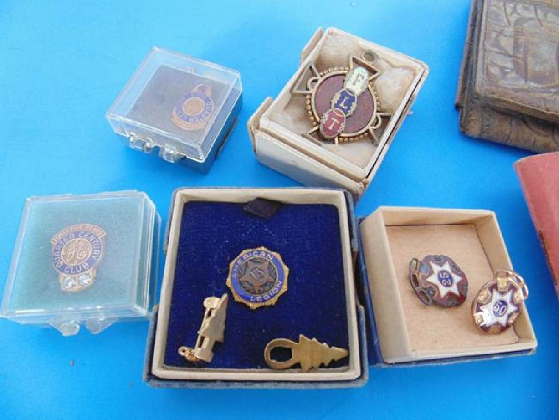 Odd Fellows & American Legion Pins