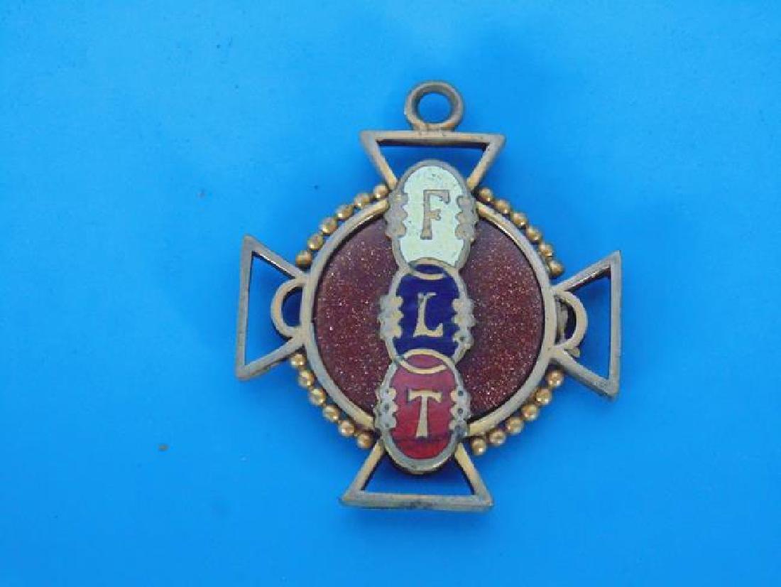 Odd Fellows & American Legion Pins - 2