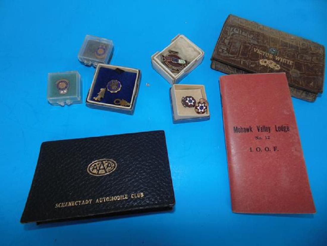 Odd Fellows & American Legion Pins - 3
