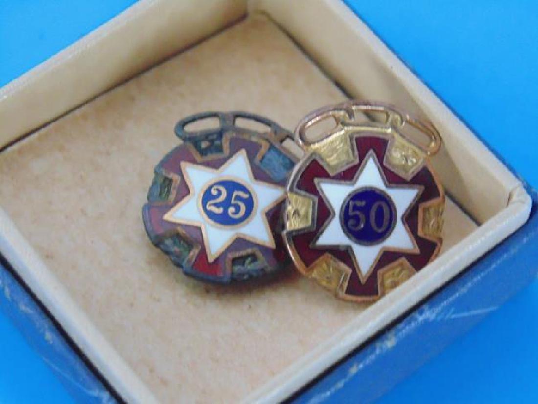 Odd Fellows & American Legion Pins - 4