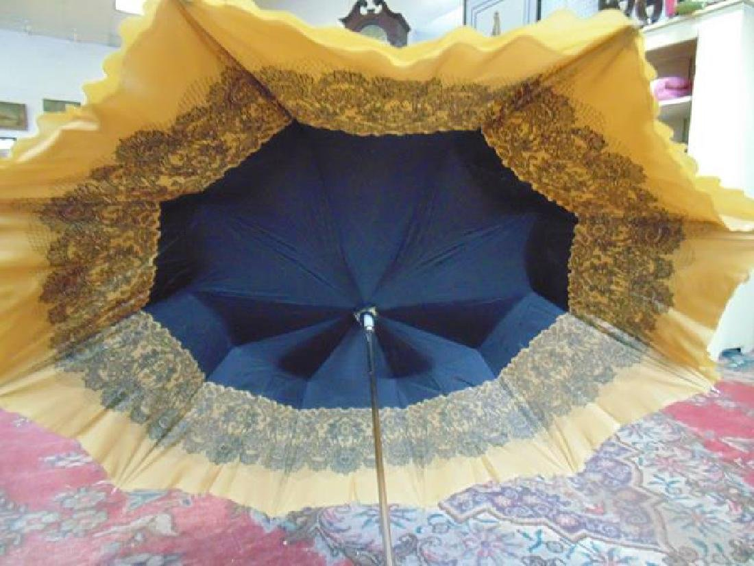 Parasol with Amber Stone Decoration - 2