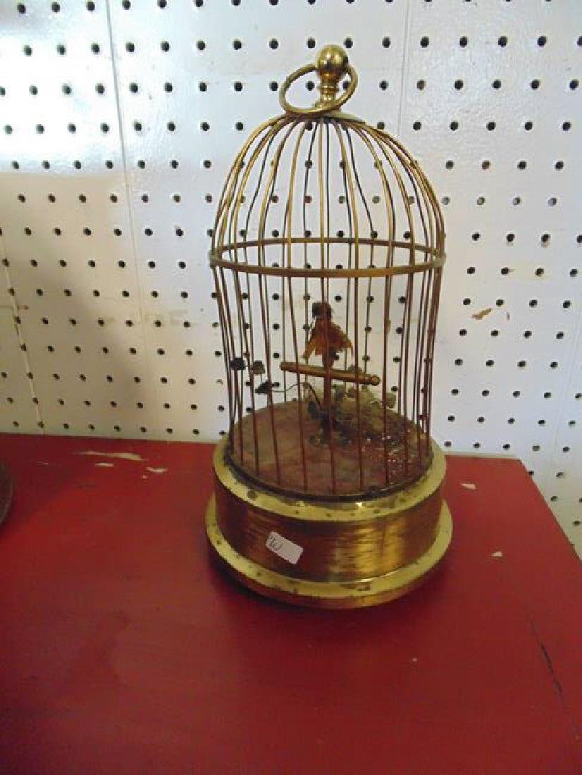 German Musical Bird in A Cage