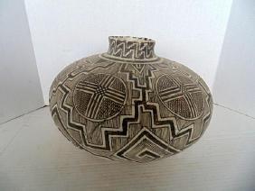 Bill Freeman Navajo Pottery Vase