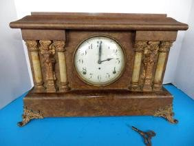 Seth Thomas Mantle Clock with Columns