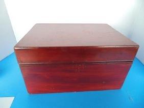 Sargent Cigar Wood Humidor