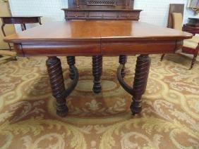 Quarter Sawn Oak Dining Room Table
