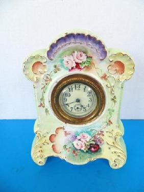 Porcelain Clock