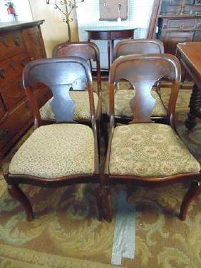 Set of 4 Empire Dining Room Chairs