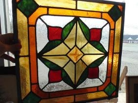Leaded & Stained Glass Panel