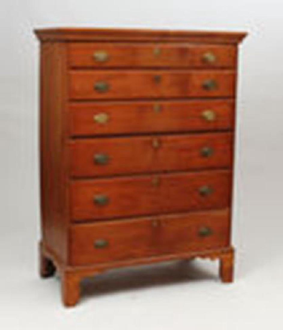 Chippendale Maple Tall Chest