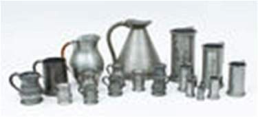 19 Pewter Articles
