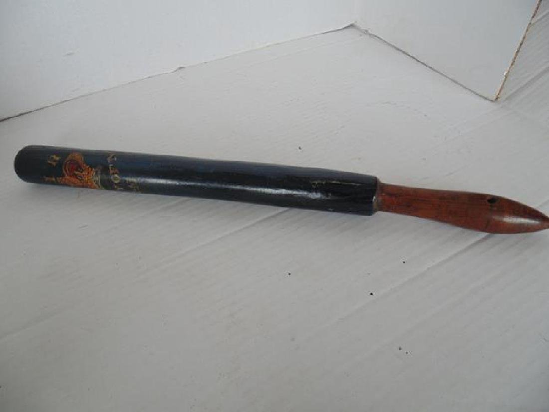 Baton Stenciled