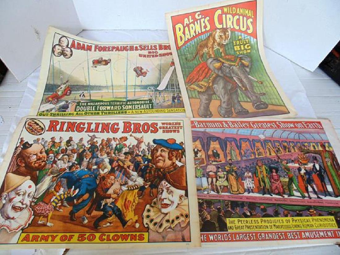New Old Stock Circus Posters
