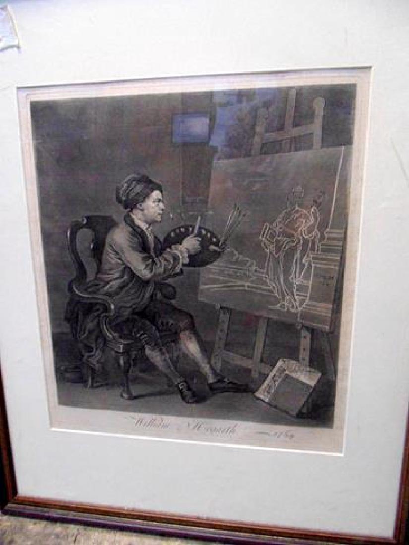 Hogarth Engraving