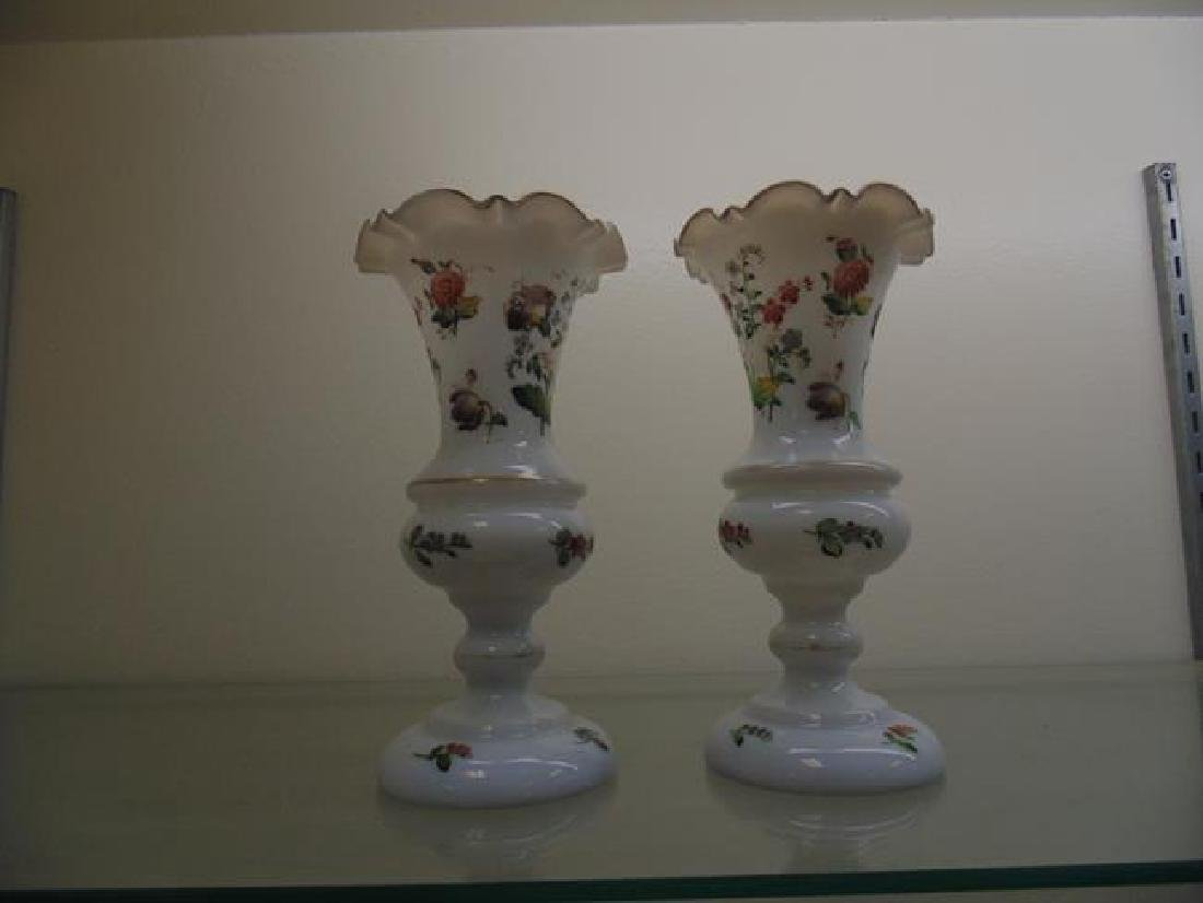 Ruffled Edge Vases
