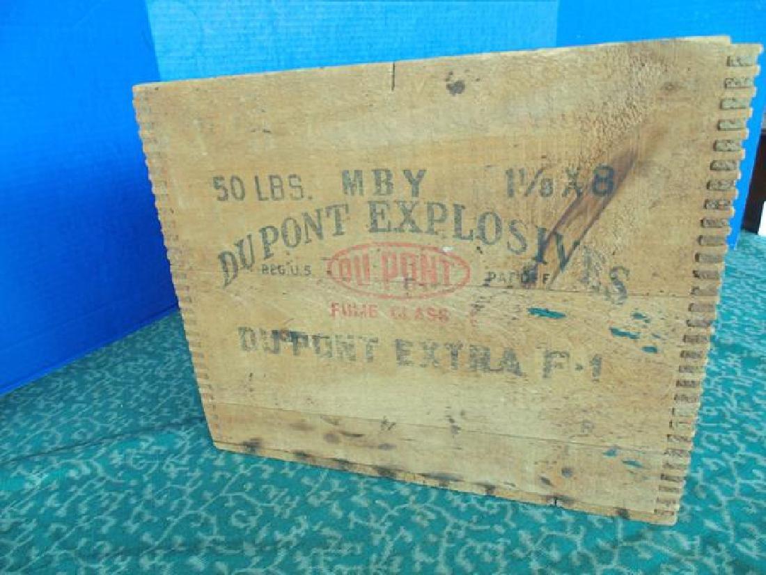 Dupont Explosive Dynamite Box