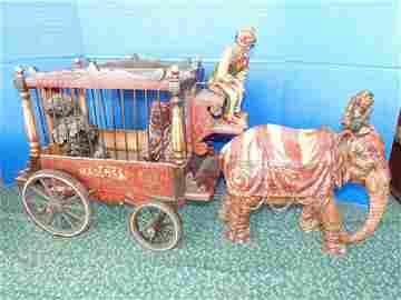 Circus Wagon & Elephant