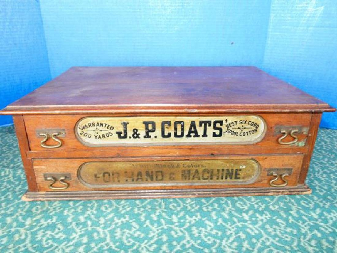JP Coats Spool Cabinet