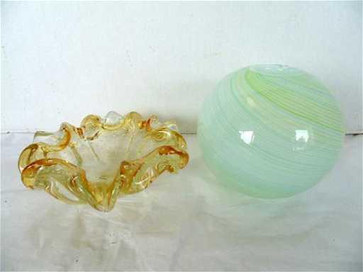 Murano Bowl Dansk Vase