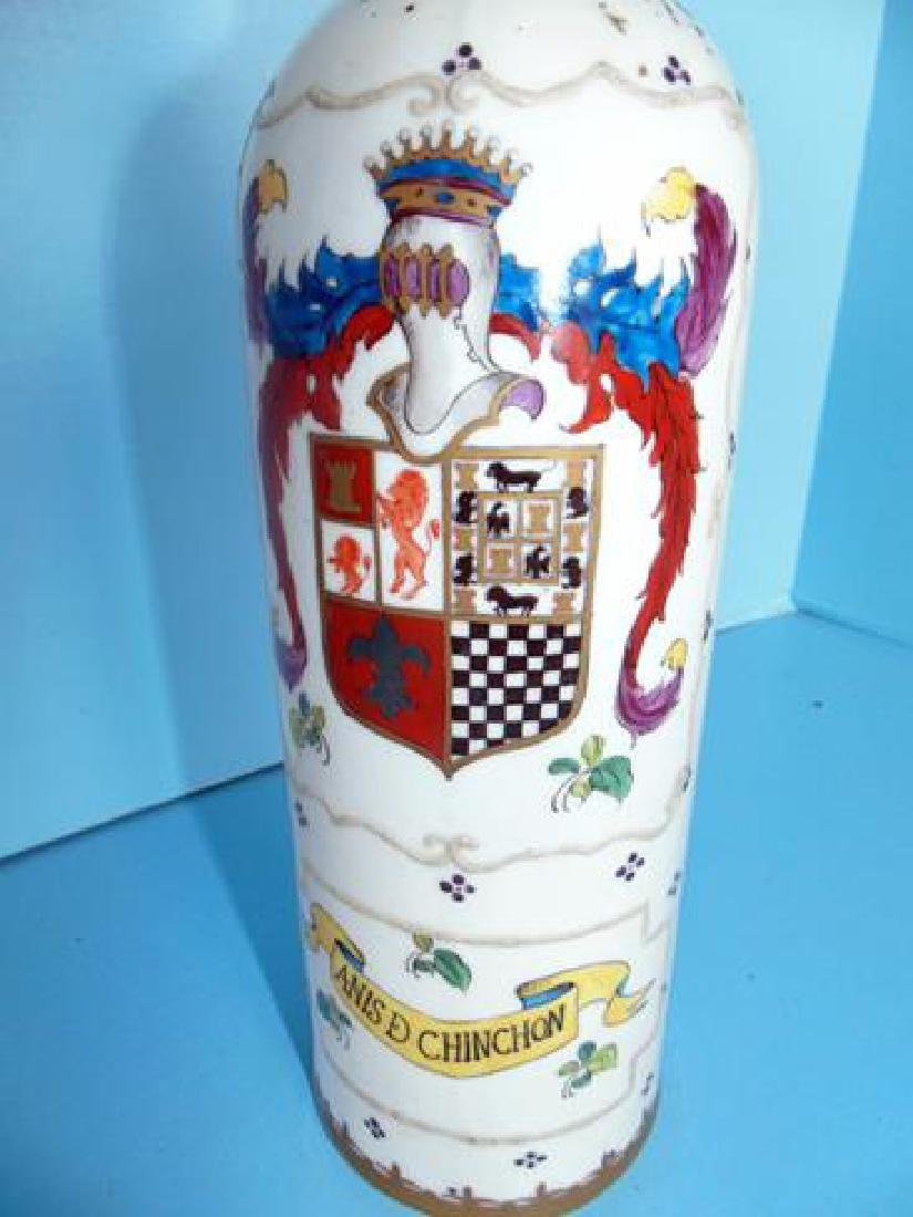 Hand Painted Decanter - 2