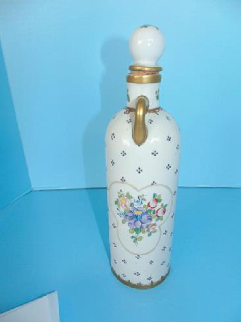 Hand Painted Decanter - 3