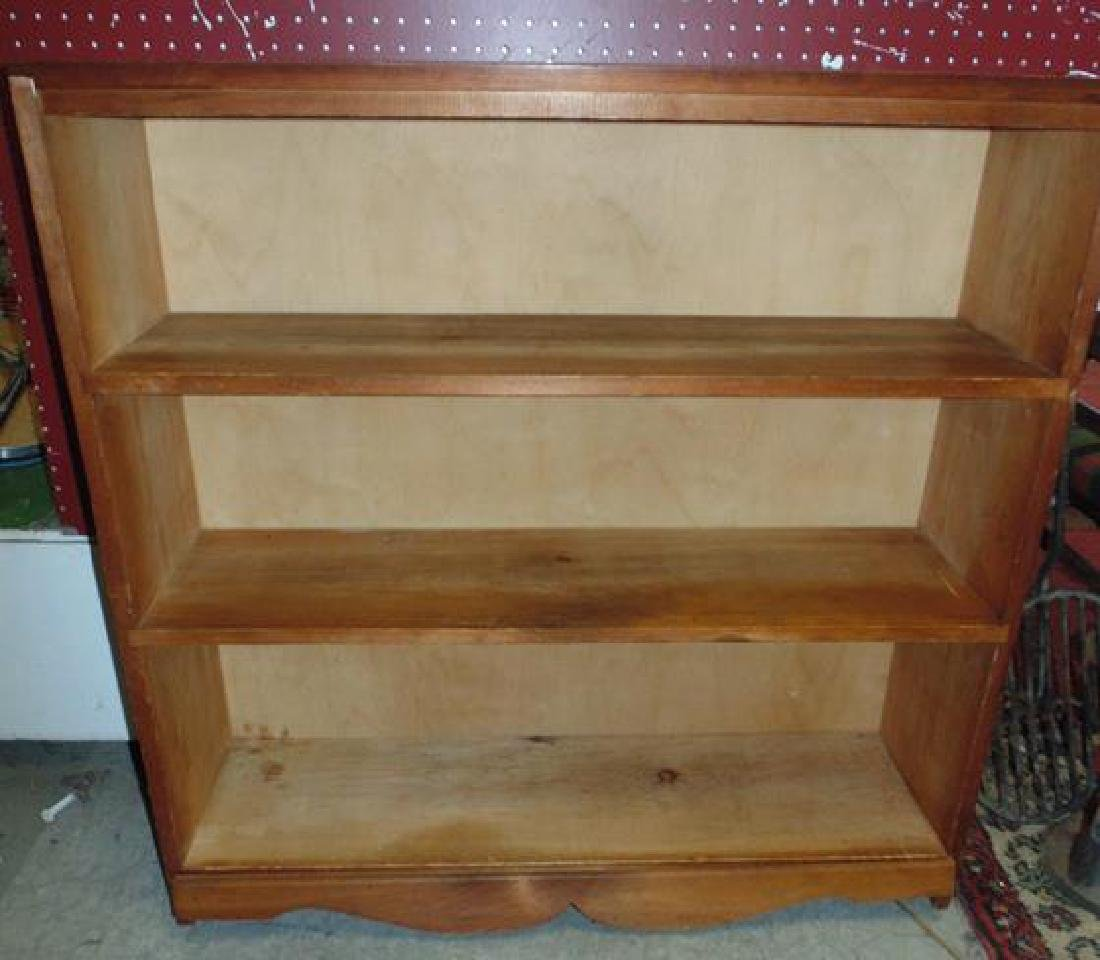 Maple Open Bookcase