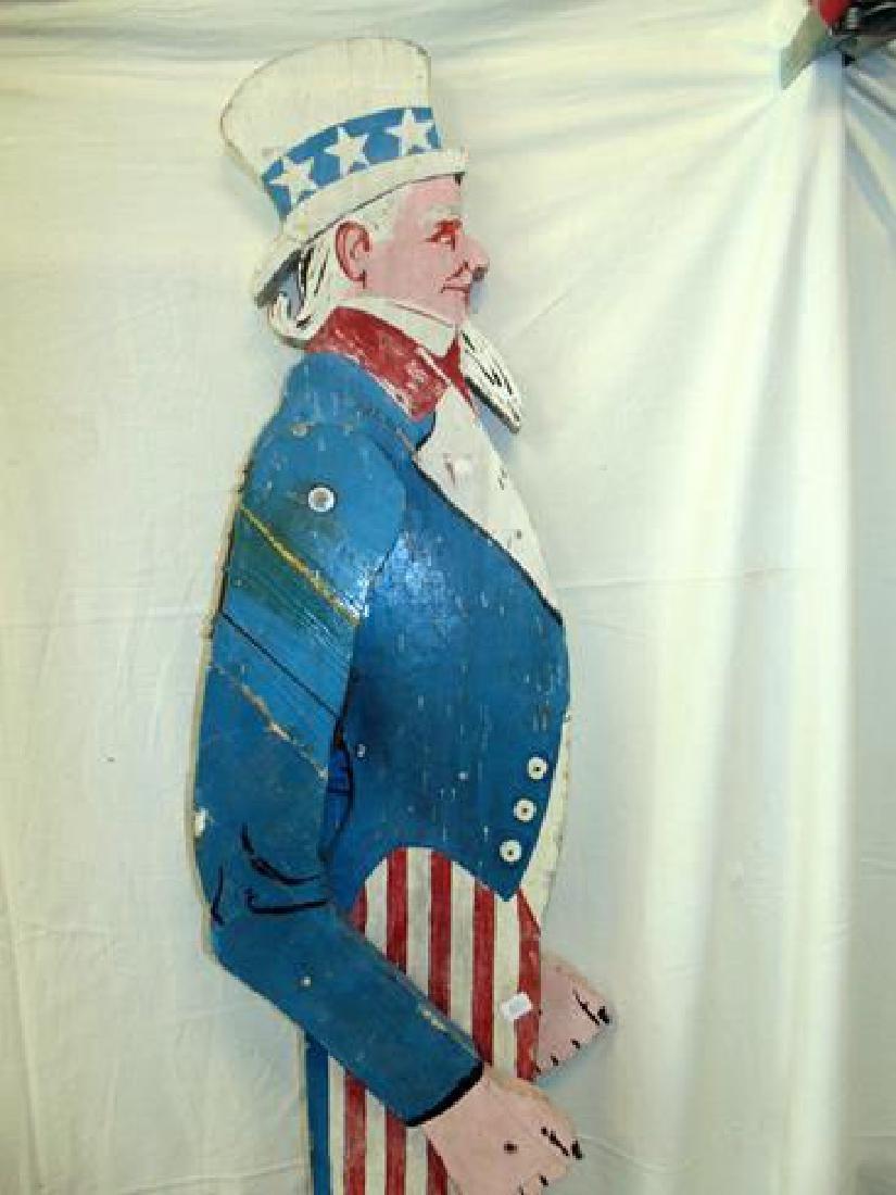 Folk Art Uncle Sam - 2