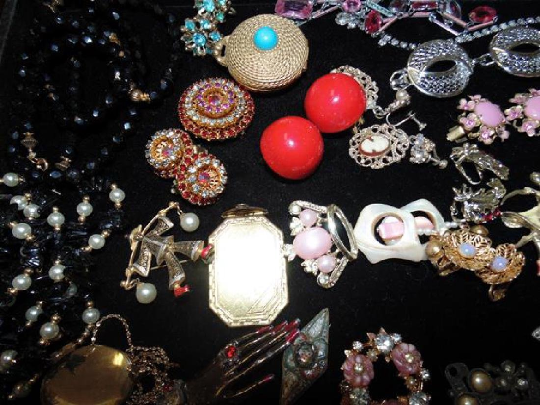 Tray Lot of Costume Jewelry - 3