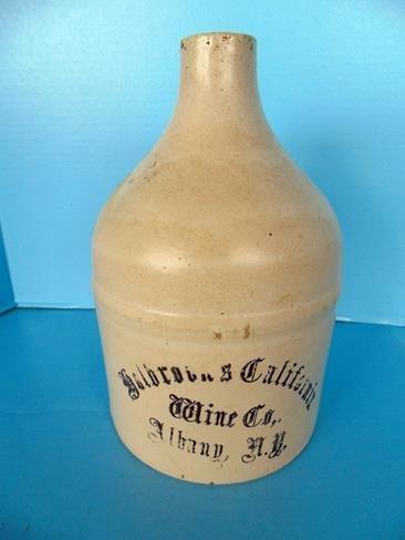 Golbrocks California Wine C0 Albany NY Jug