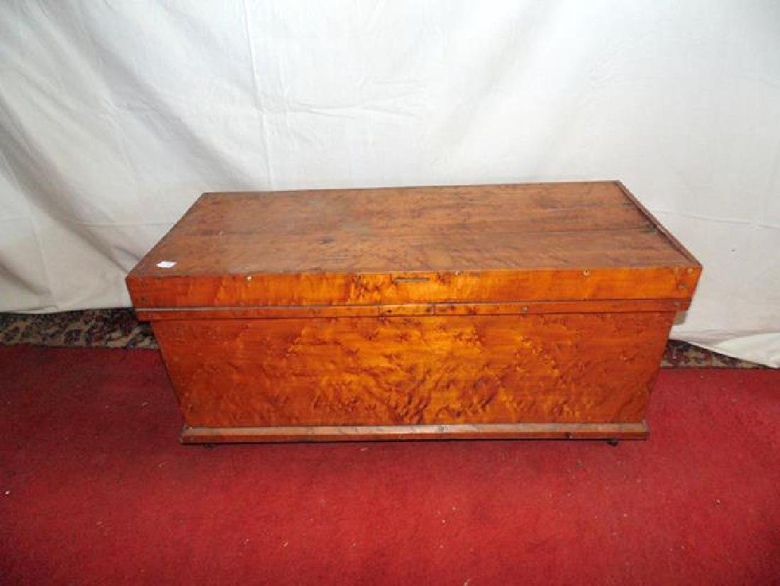 Early Birdseye Maple Chest