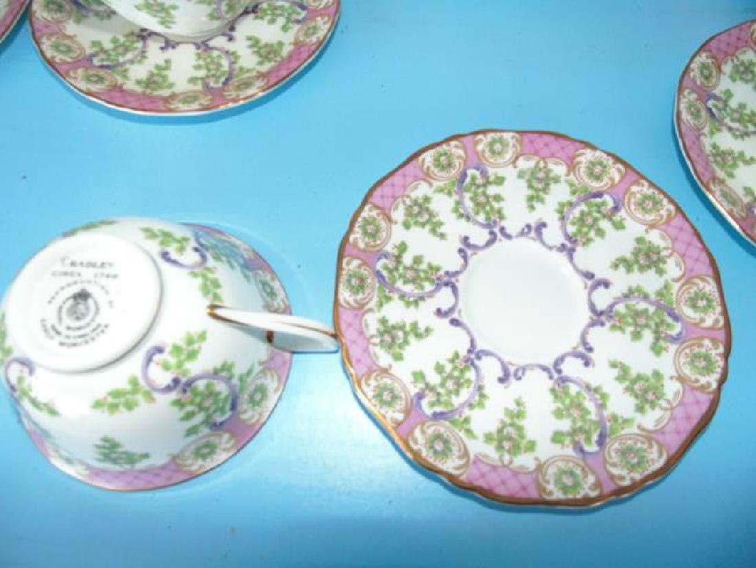 Cradley Royal Worcester Luncheon Set - 2