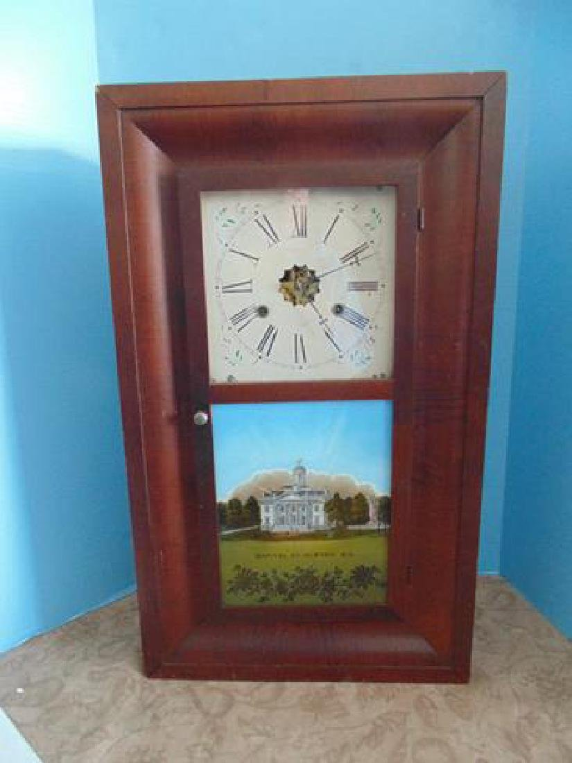 Welch OG Shelf Clock Capitol of Albany New York