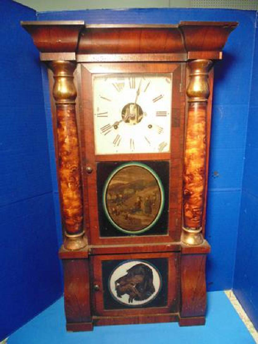 Seth Thomas Double Decker  Clock