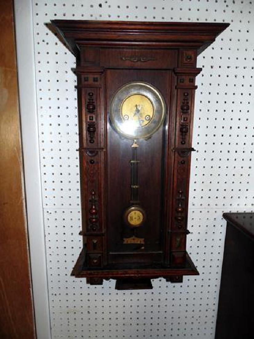Oak Regulator Clock