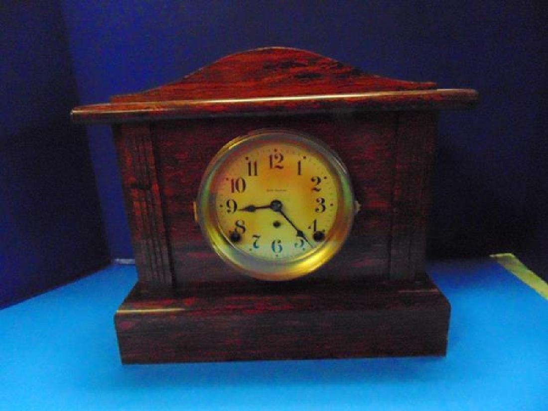 Seth Thomas Grain  Painted Mantle Clock