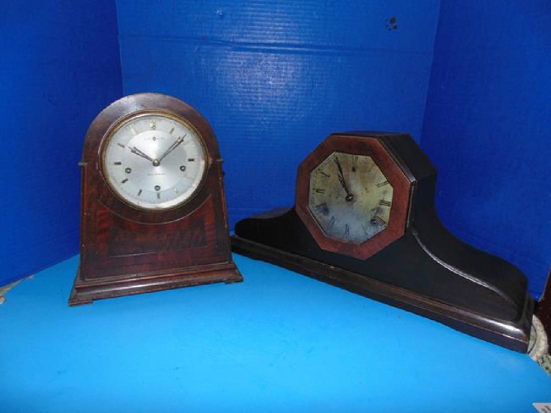 Seth Thomas & New Haven Mantle Clocks
