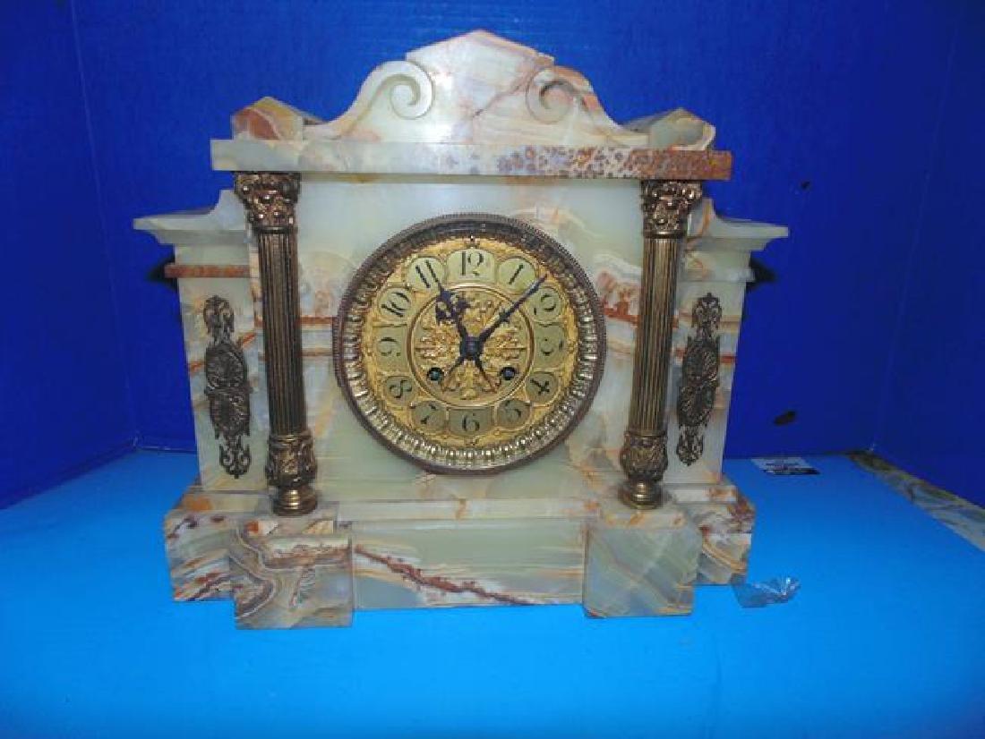 G. Wilbur Russel Mantle Clock