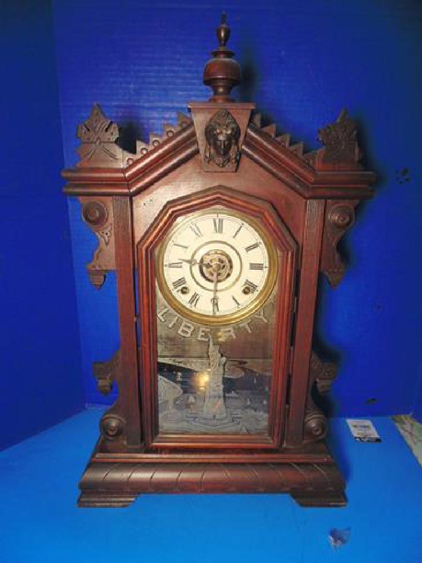 Charles Adams Liberty Shelf Clock
