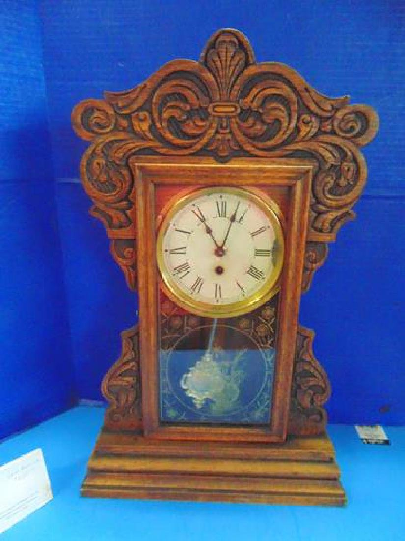 New Haven Gingerbread Clock