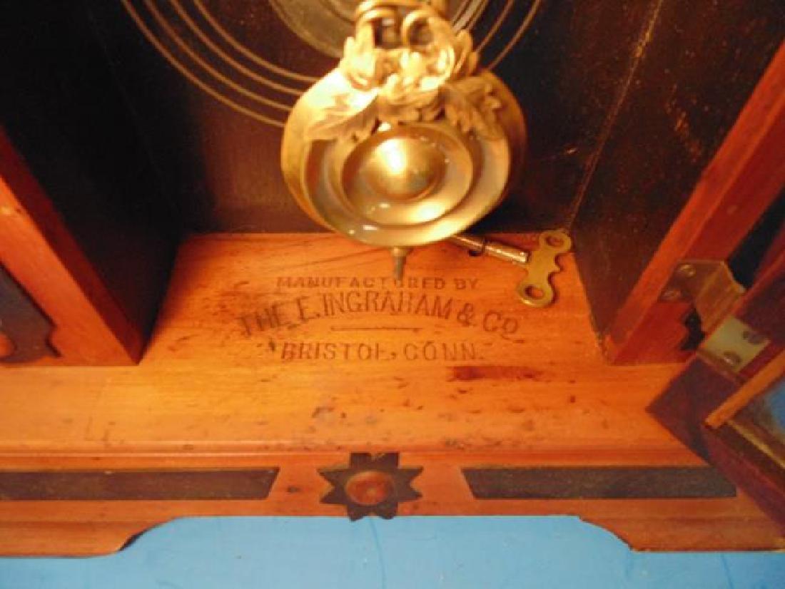 Ingraham Faultless Parlor Clock - 4