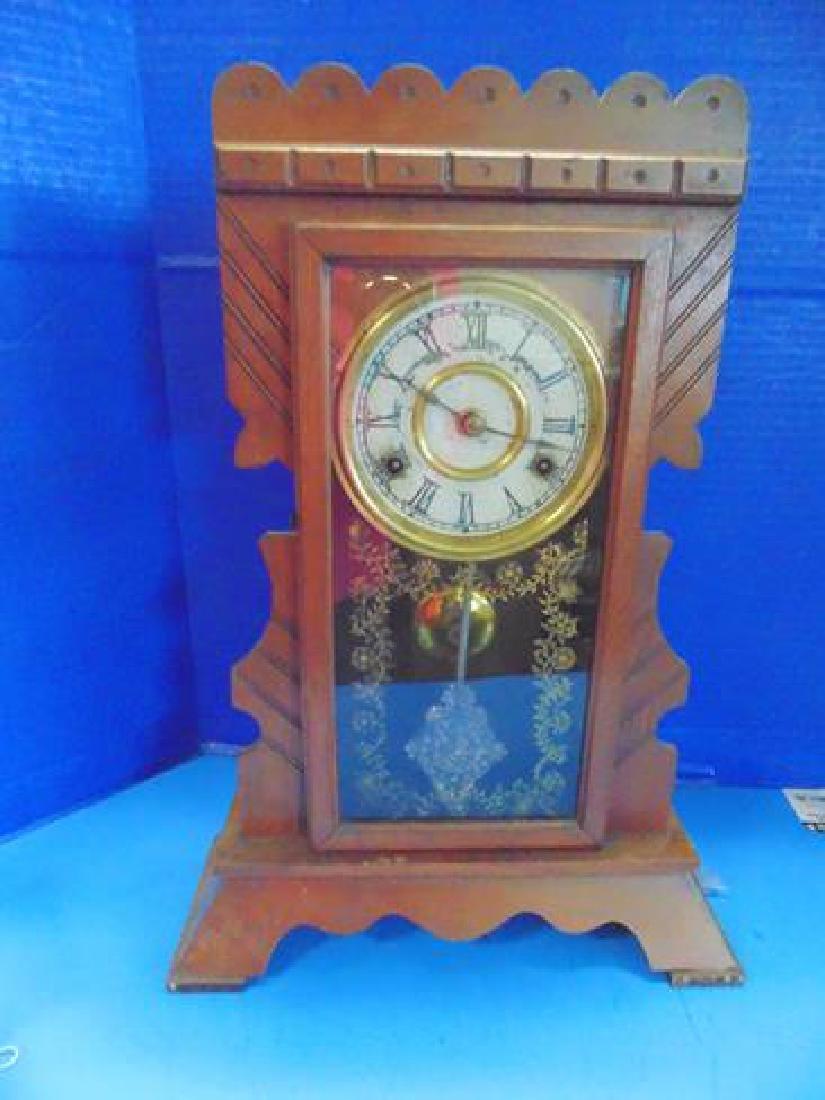 New Haven Walnut Parlor Clock