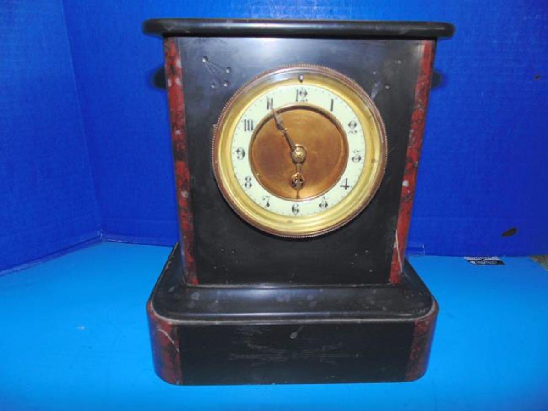 James Scott Slate  Mantle Clock