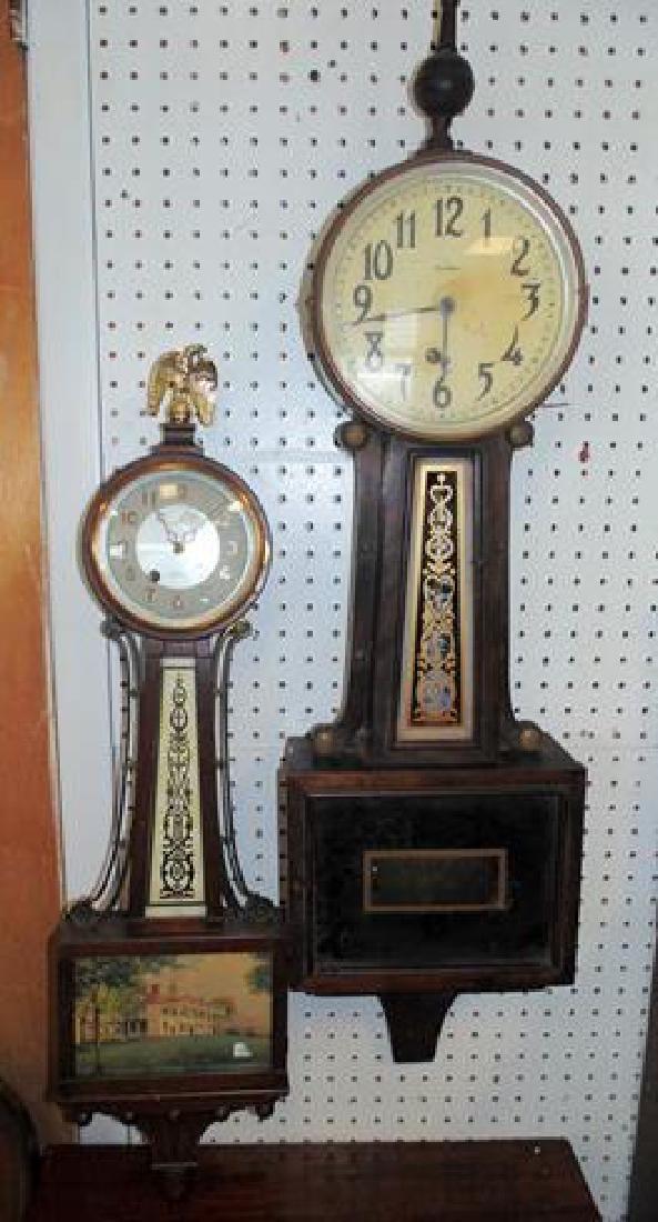 2 Banjo Clocks
