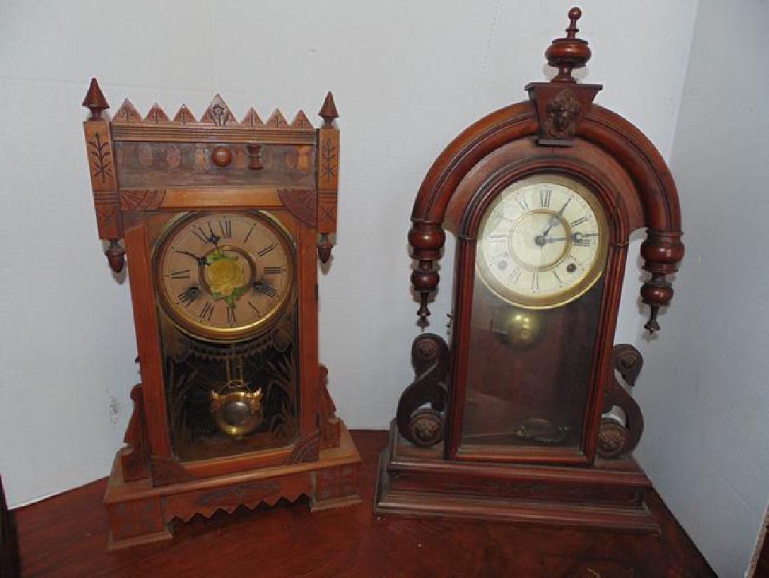 Gilbert Abyla & Walnut Kroeber Shelf Clocks