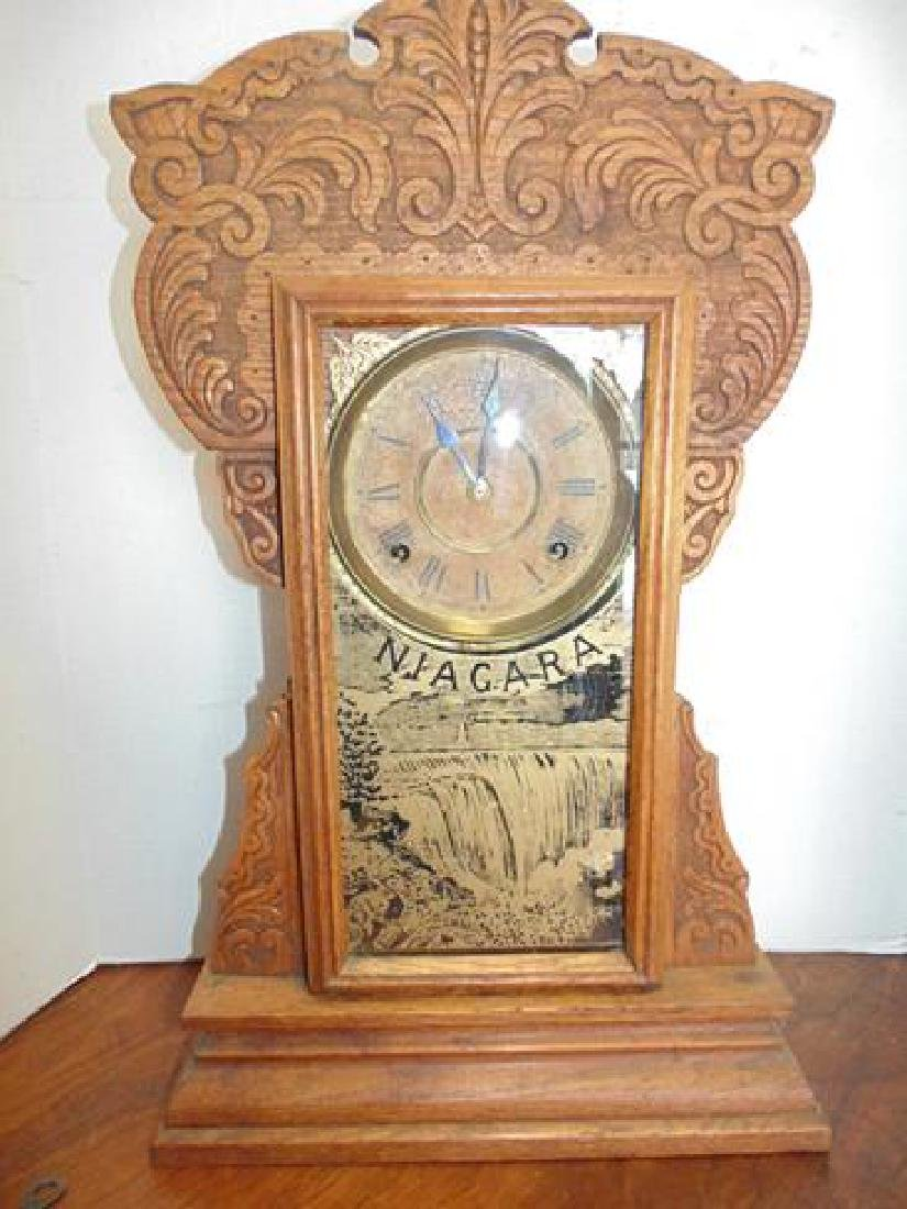 Niagara Falls Kitchen Mantle Clock