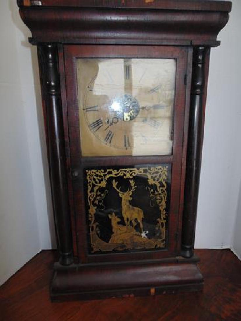 Pillar  Scenic  Clock